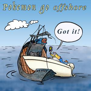 Pokemon goes offshore